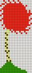 Alpha Friendship Bracelet Pattern #7416