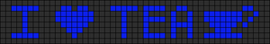 Alpha pattern #7417