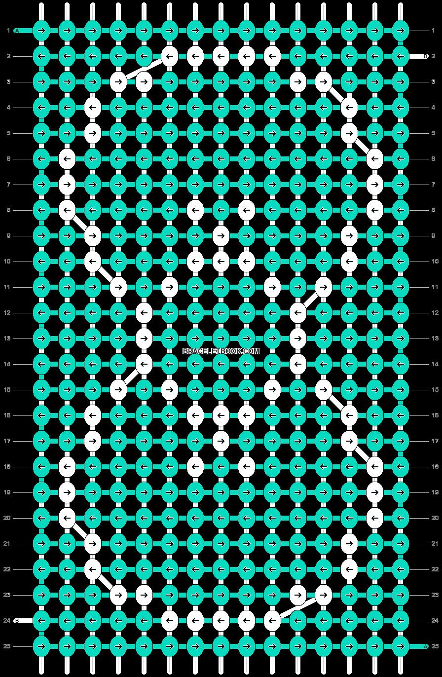 Alpha pattern #7419 pattern