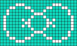 Alpha pattern #7419