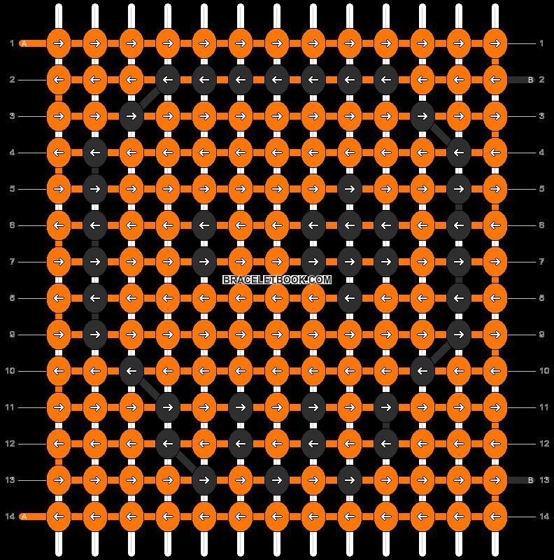 Alpha pattern #7420 pattern