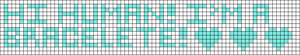 Alpha Friendship Bracelet Pattern #7432