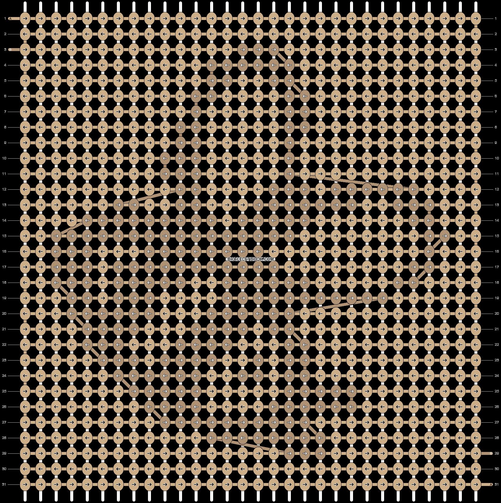 Alpha pattern #7455 pattern