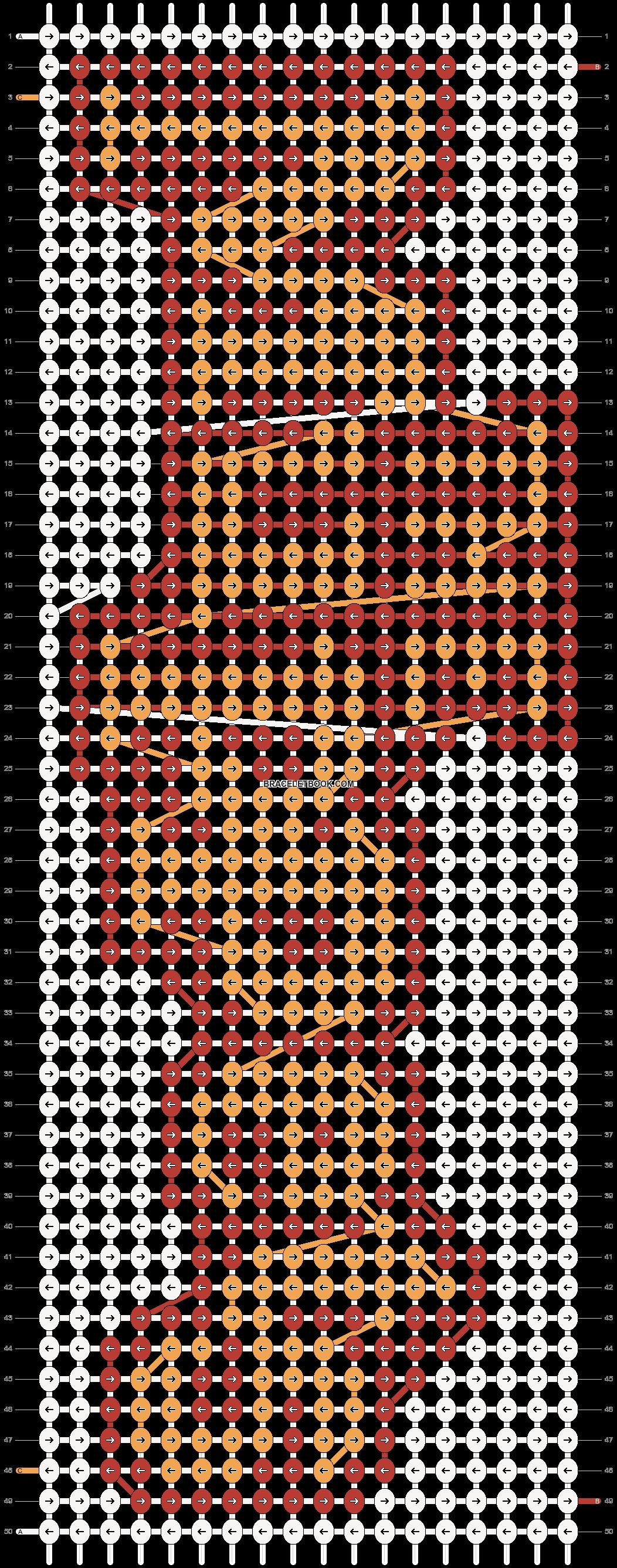 Alpha pattern #7456 pattern