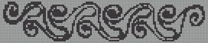 Alpha Friendship Bracelet Pattern #7464