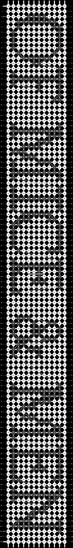 Alpha pattern #7468 pattern