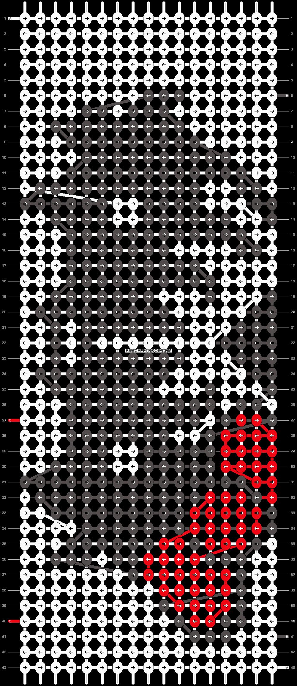 Alpha pattern #7471 pattern