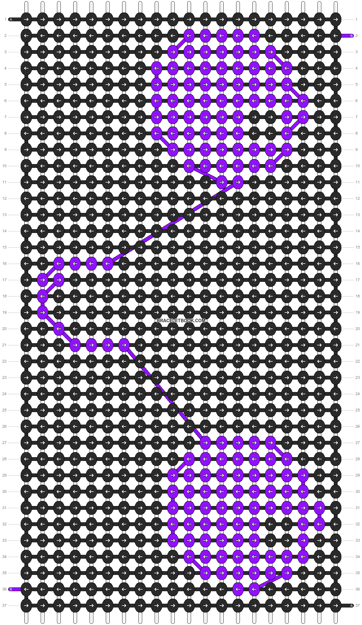 Alpha pattern #7475 pattern