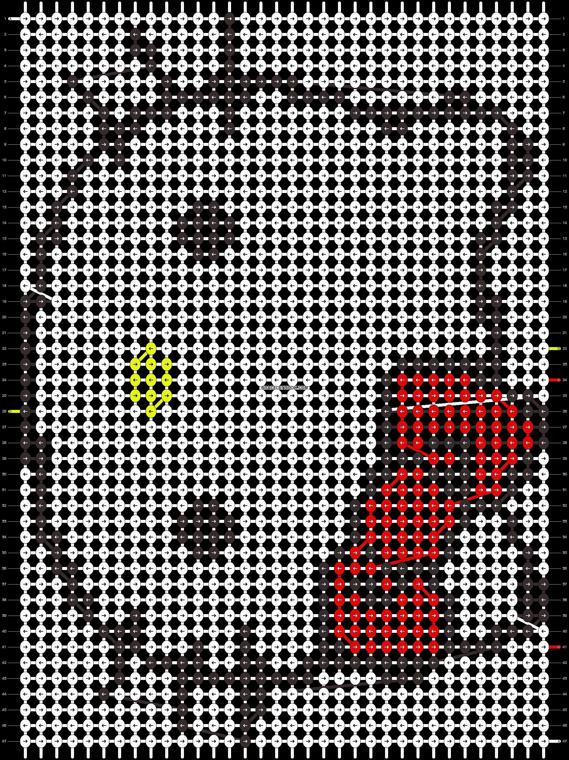 Alpha pattern #7482 pattern