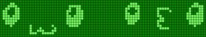 Alpha pattern #7483
