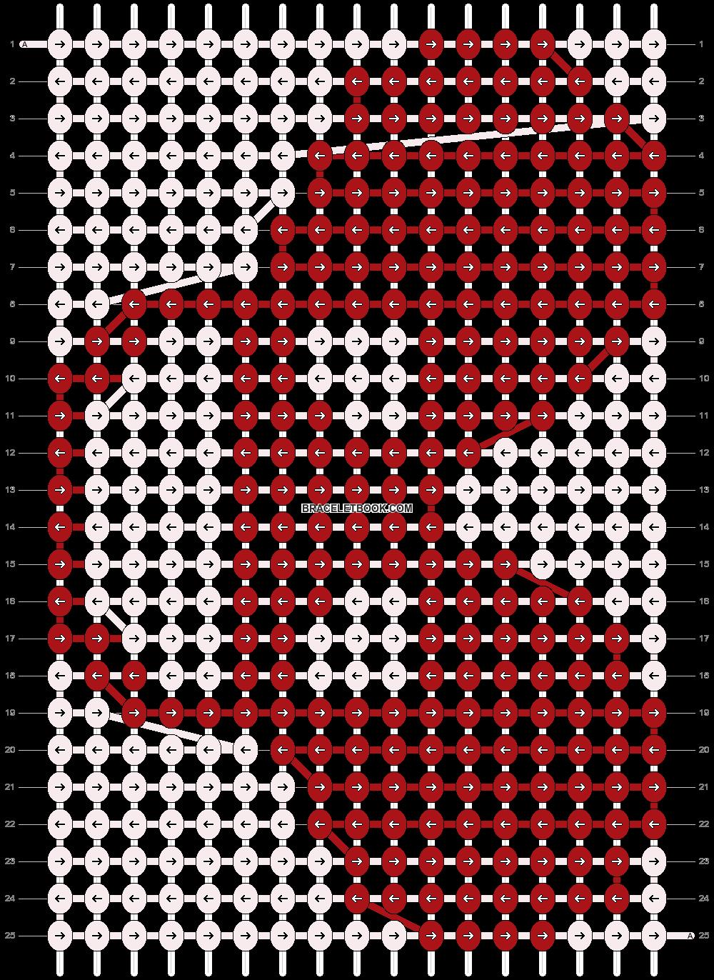 Alpha pattern #7486 pattern