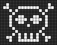 Alpha pattern #7489