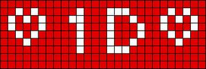 Alpha pattern #7491