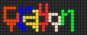 Alpha pattern #7493