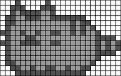 Alpha pattern #7498