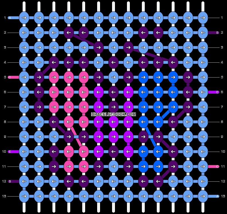 Alpha pattern #7510 pattern