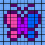 Alpha pattern #7510