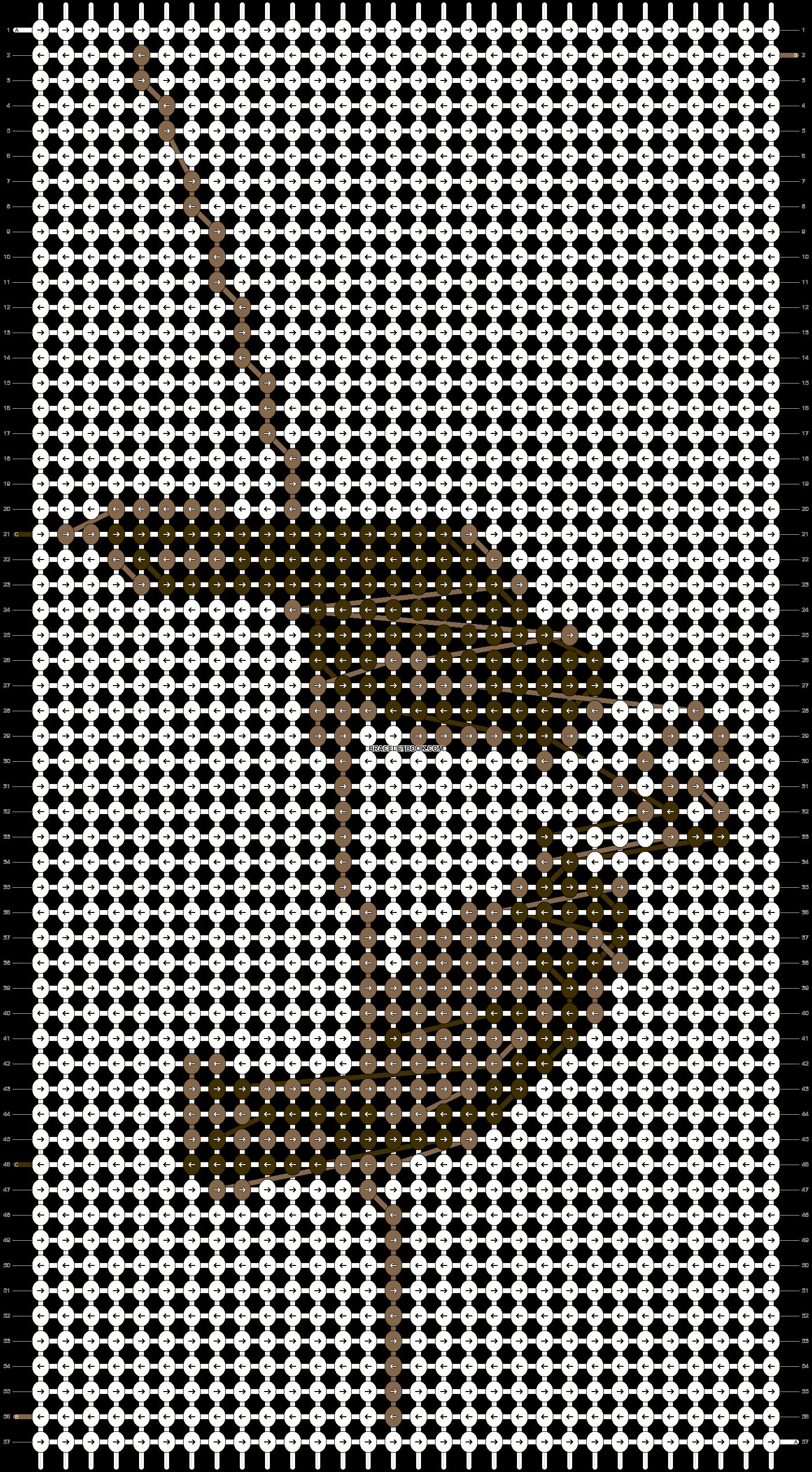 Alpha pattern #7515 pattern