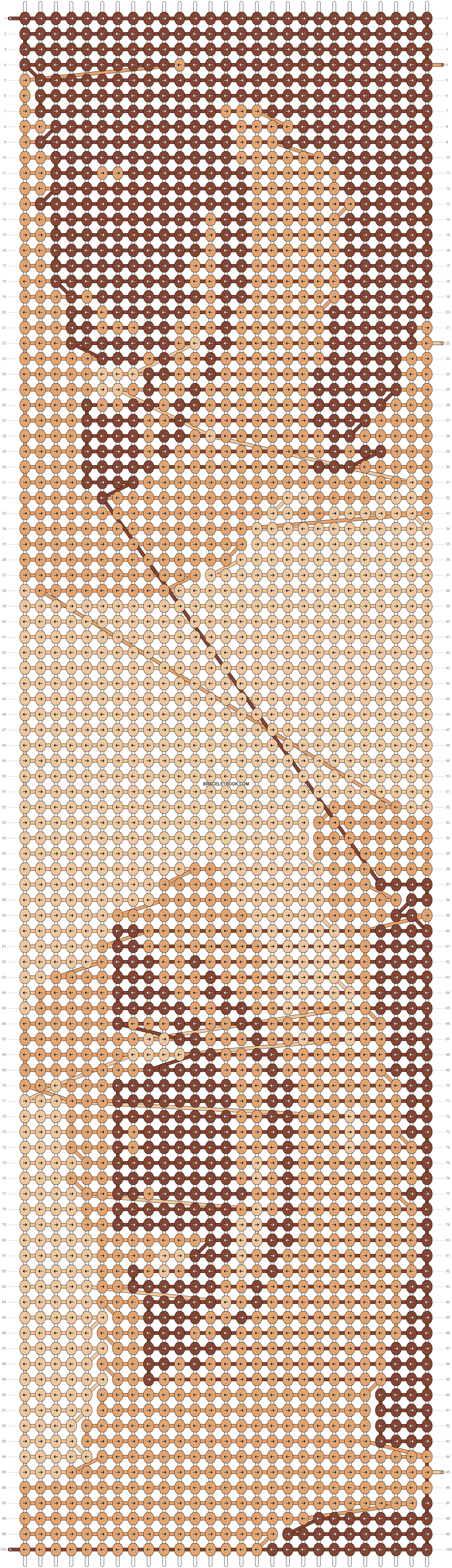 Alpha pattern #7520 pattern