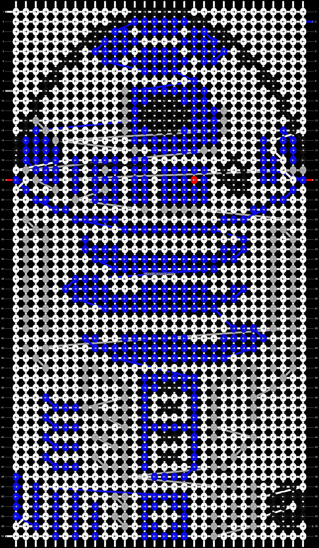 Alpha pattern #7523 pattern