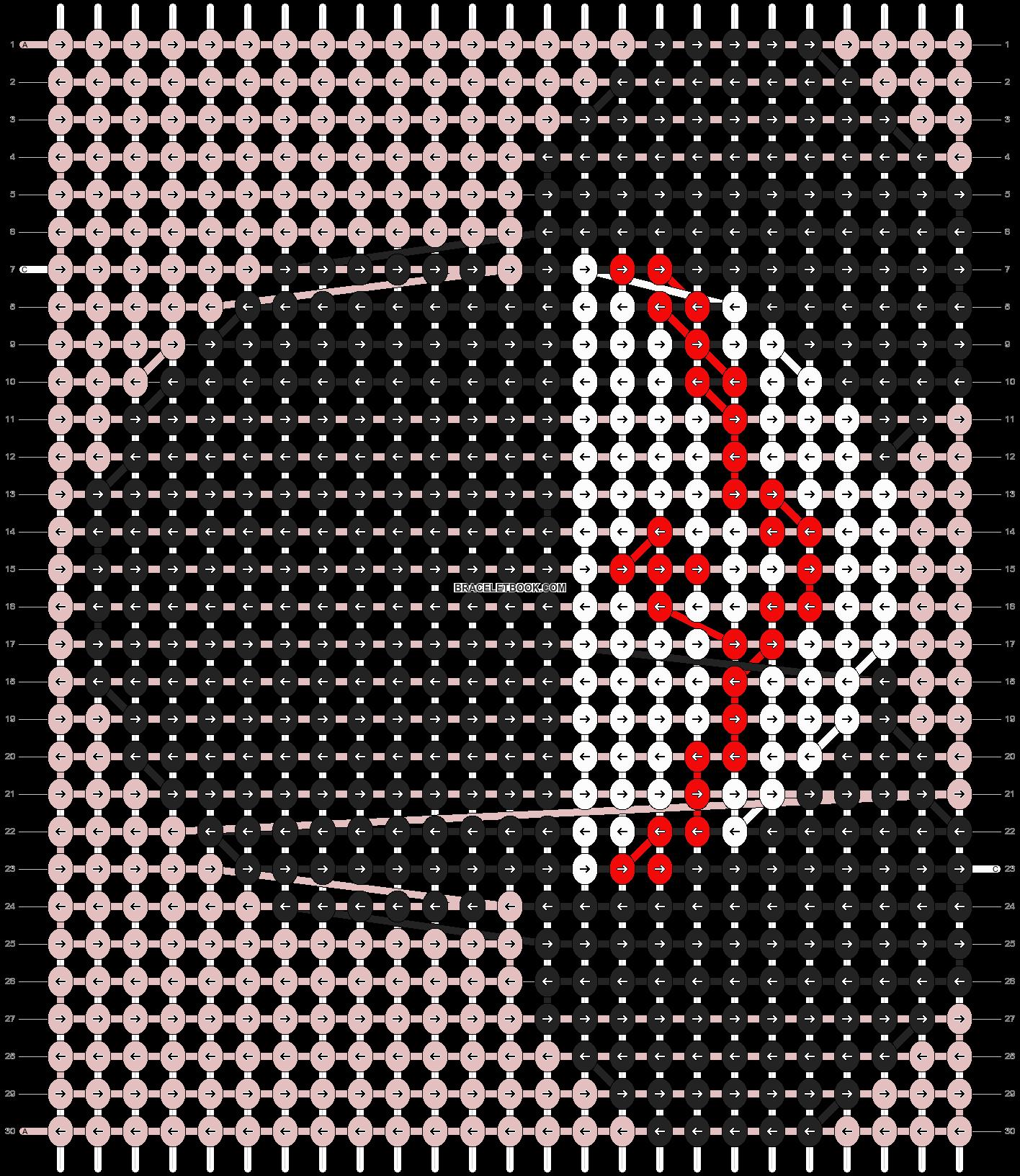 Alpha pattern #7529 pattern