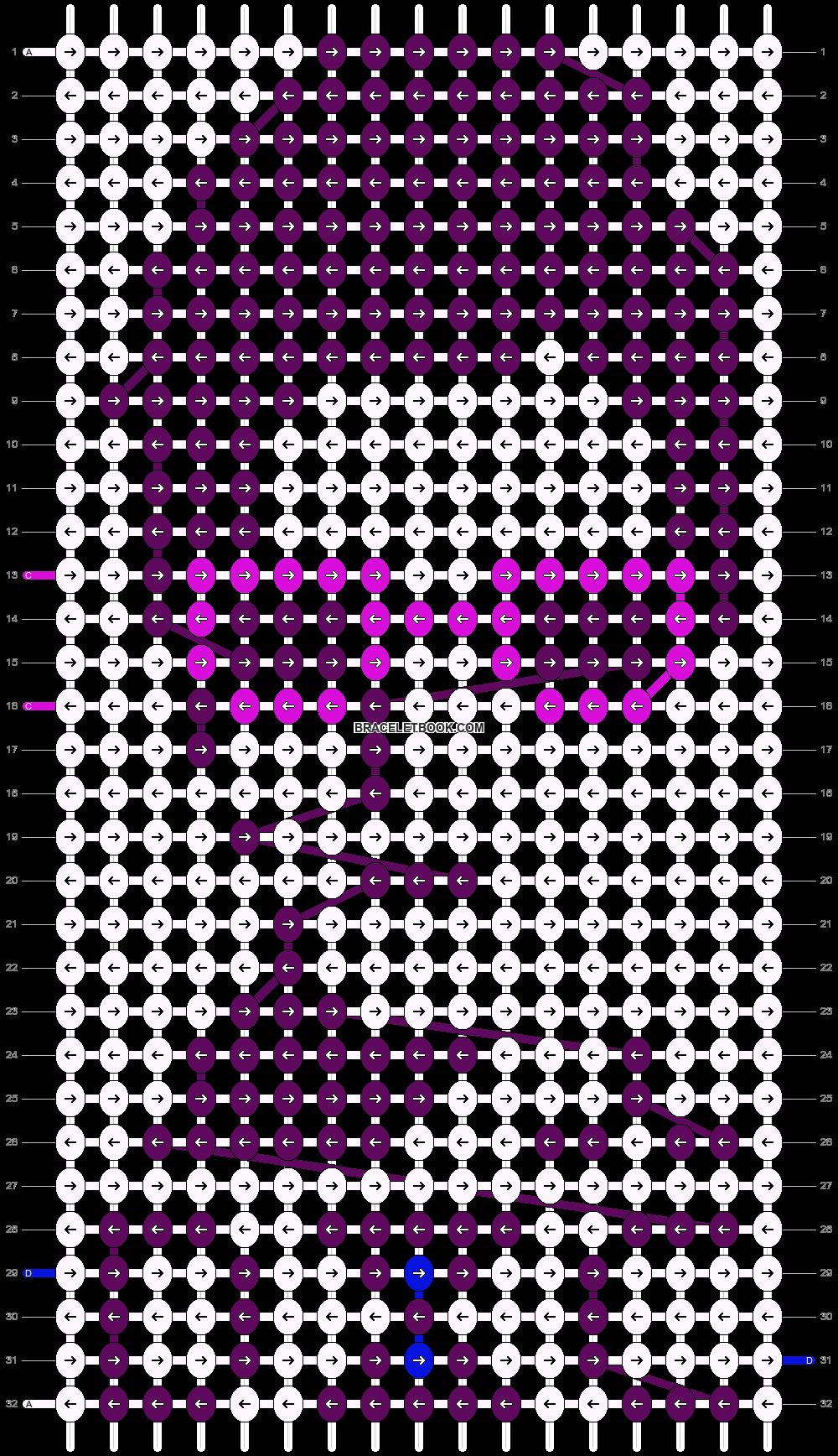 Alpha pattern #7533 pattern