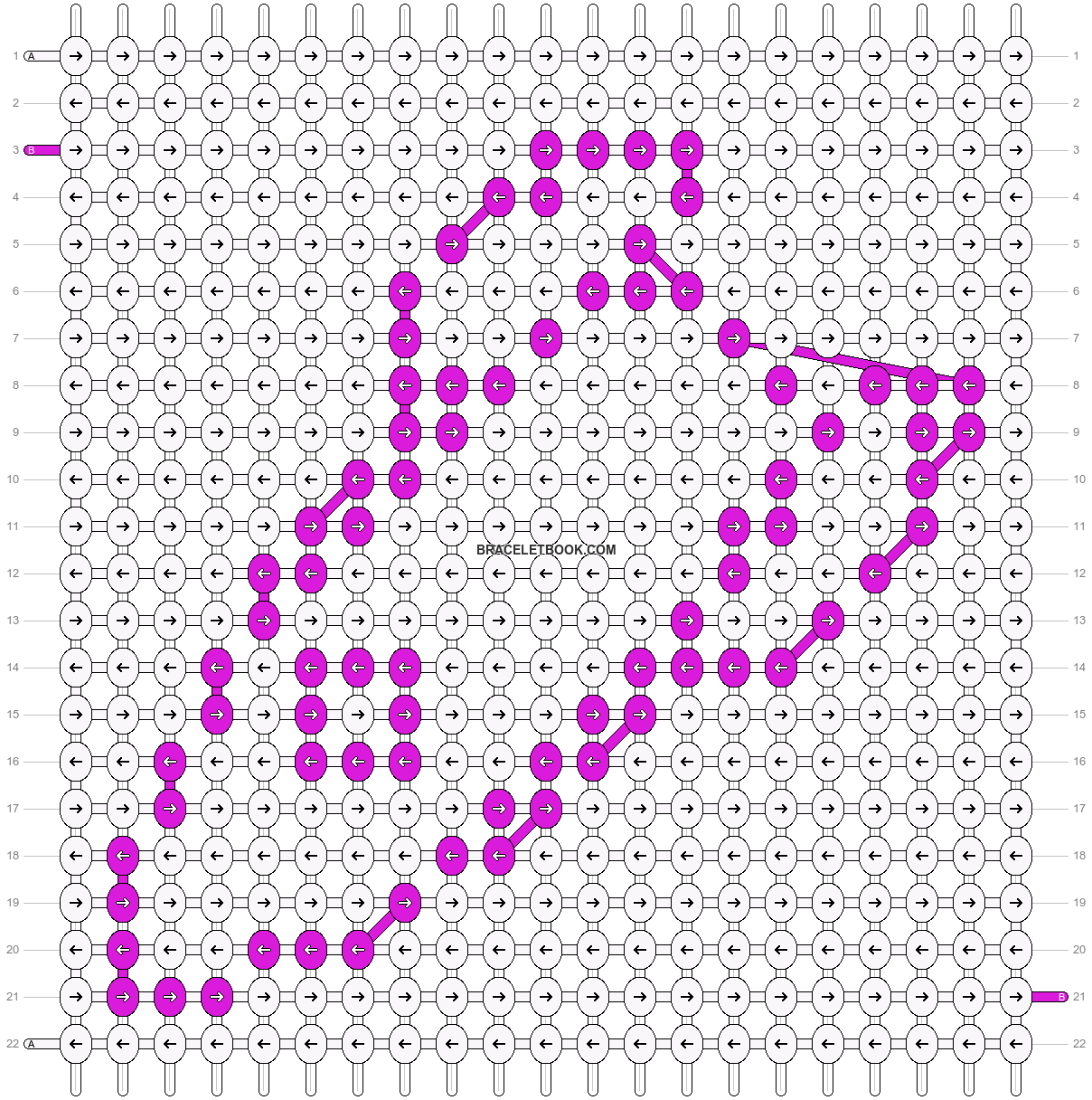 Alpha pattern #7534 pattern