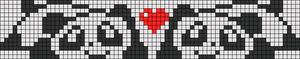 Alpha pattern #7535