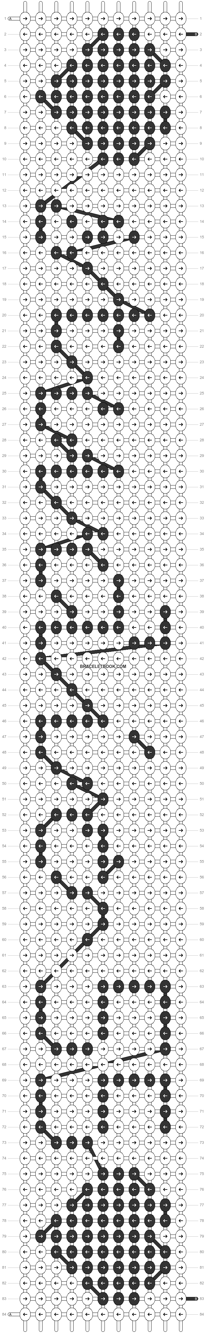 Alpha pattern #7536 pattern