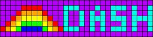 Alpha pattern #7548