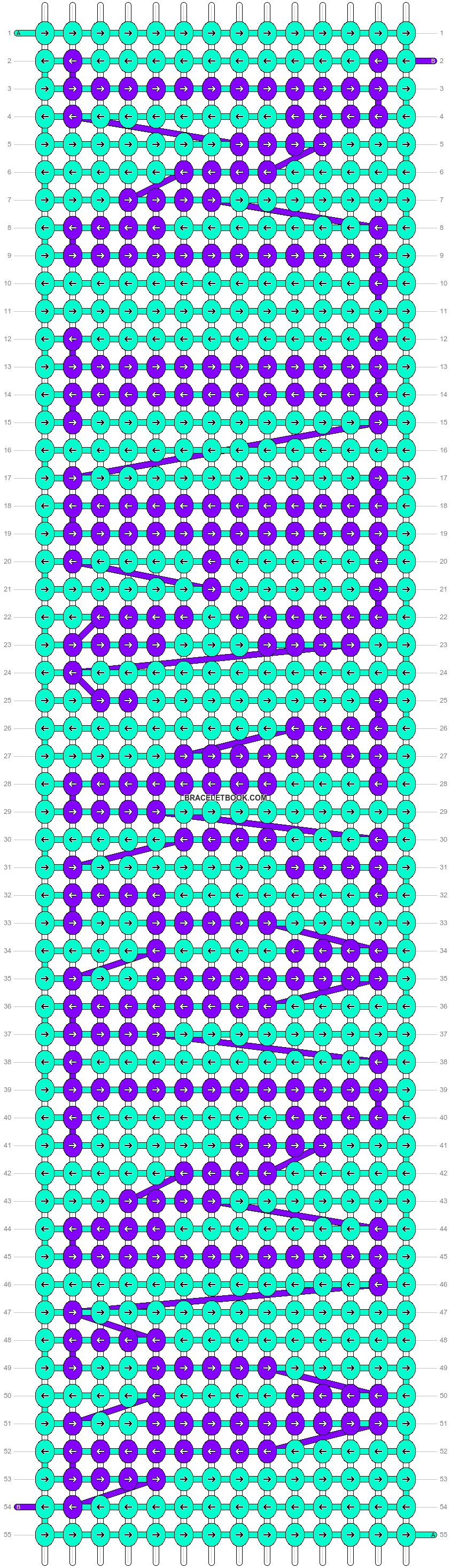 Alpha pattern #7549 pattern