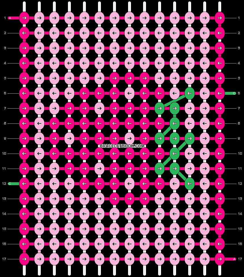Alpha pattern #7552 pattern