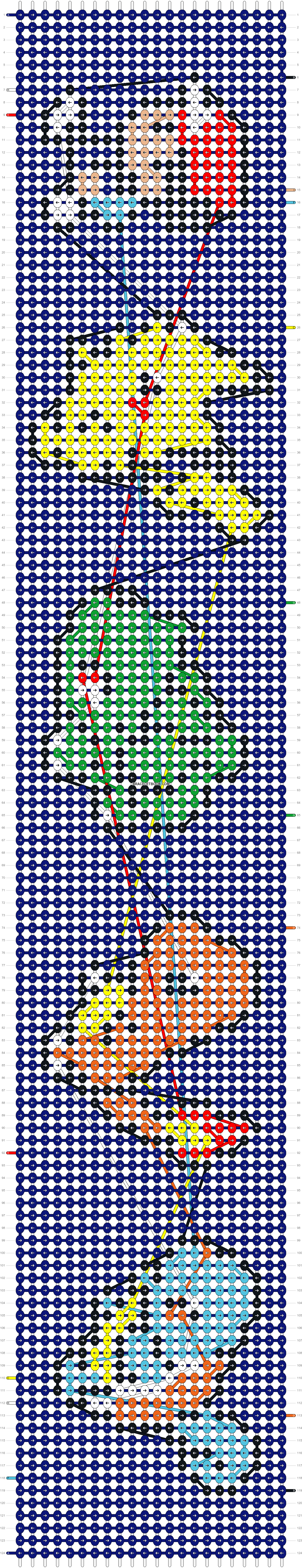 Alpha pattern #7570 pattern