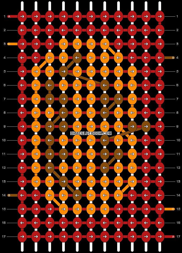 Alpha pattern #7572 pattern
