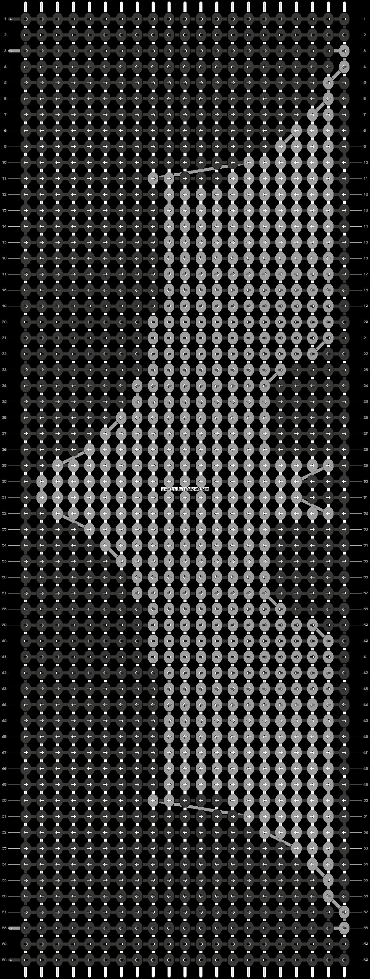 Alpha pattern #7578 pattern