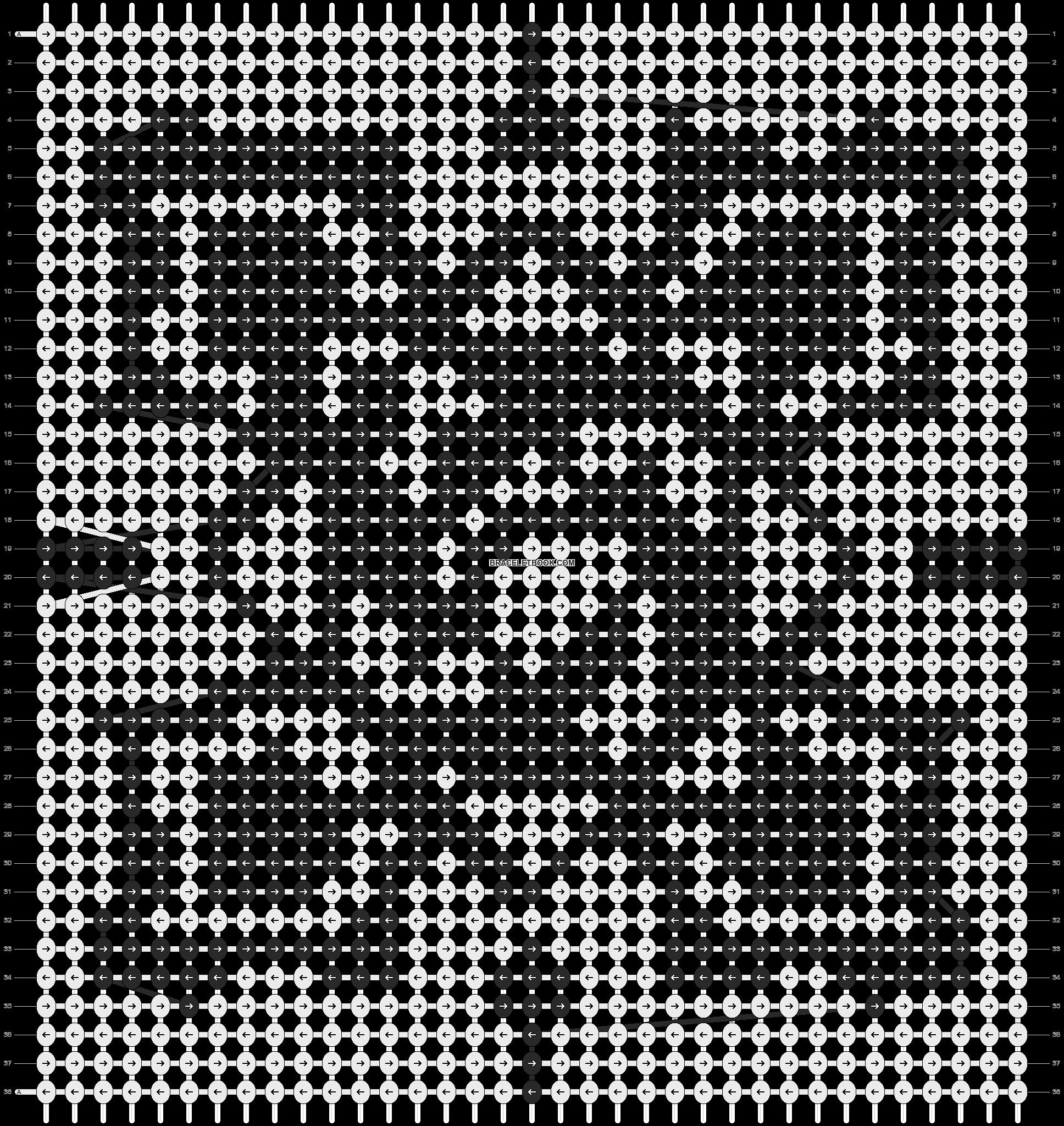 Alpha pattern #7581 pattern