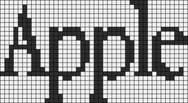 Alpha pattern #7589