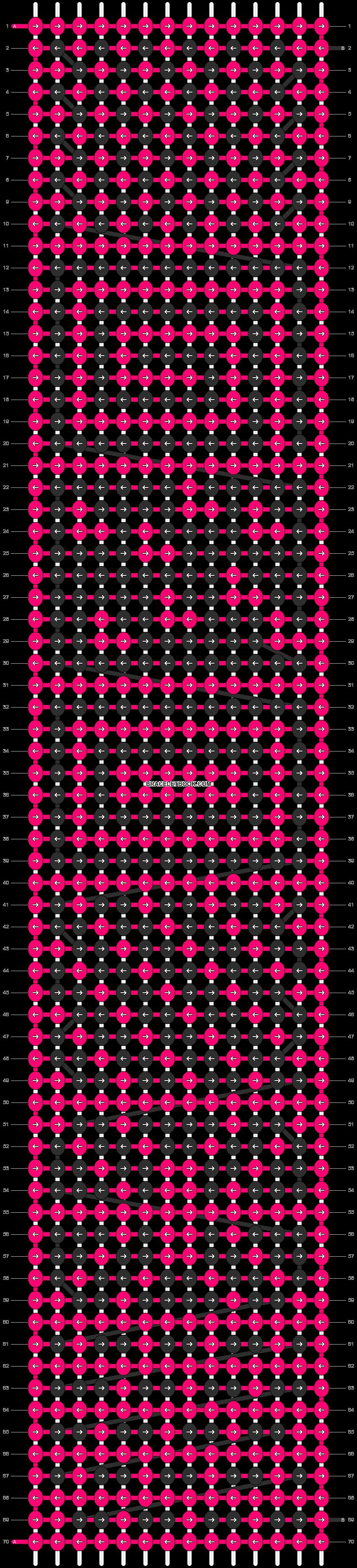 Alpha pattern #7590 pattern