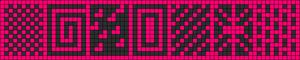 Alpha Friendship Bracelet Pattern #7590