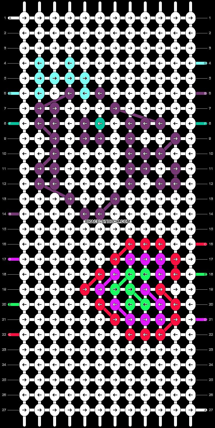 Alpha pattern #7593 pattern