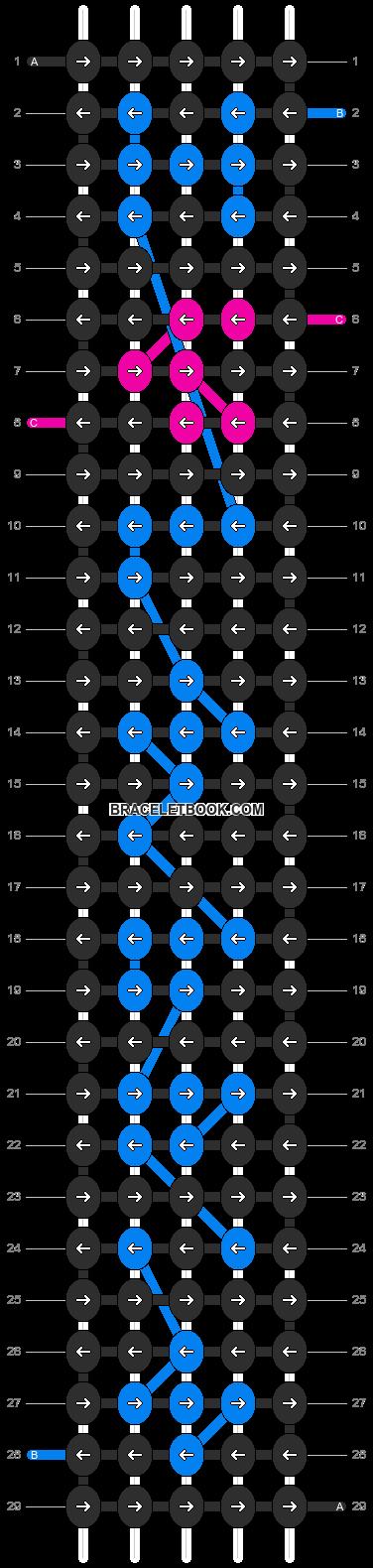 Alpha pattern #7594 pattern