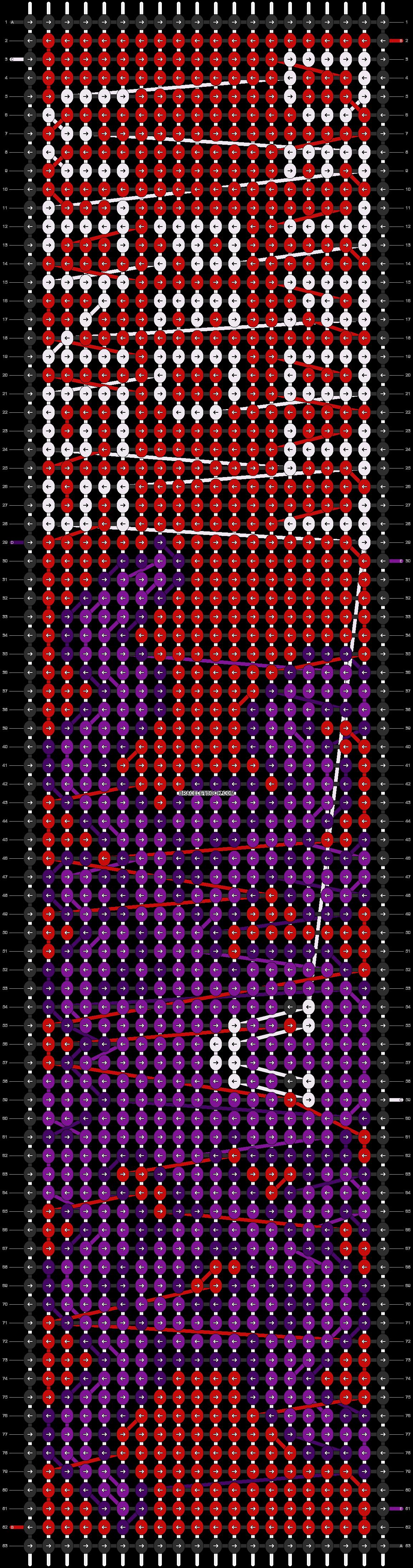 Alpha pattern #7598 pattern