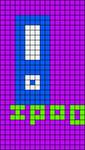 Alpha pattern #7599