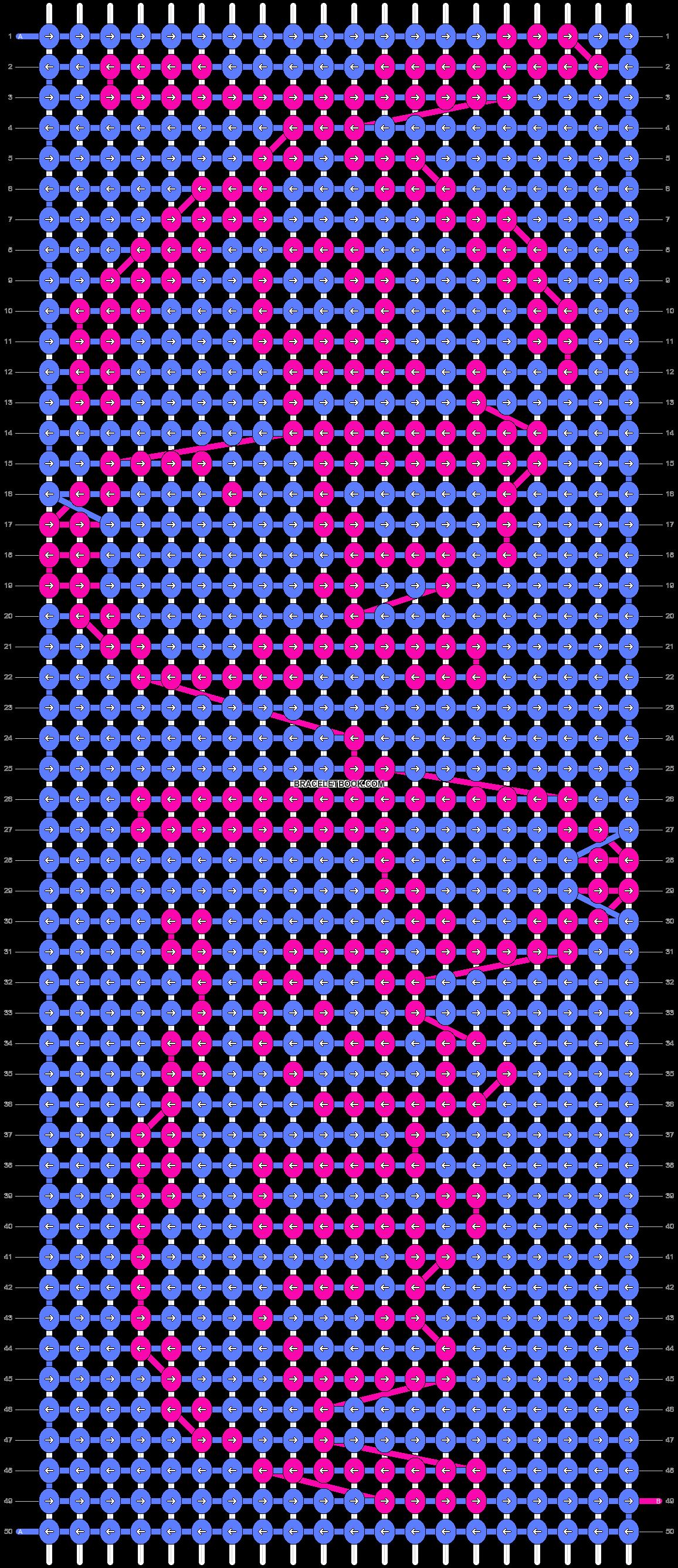 Alpha pattern #7601 pattern