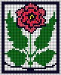 Alpha Friendship Bracelet Pattern #7610