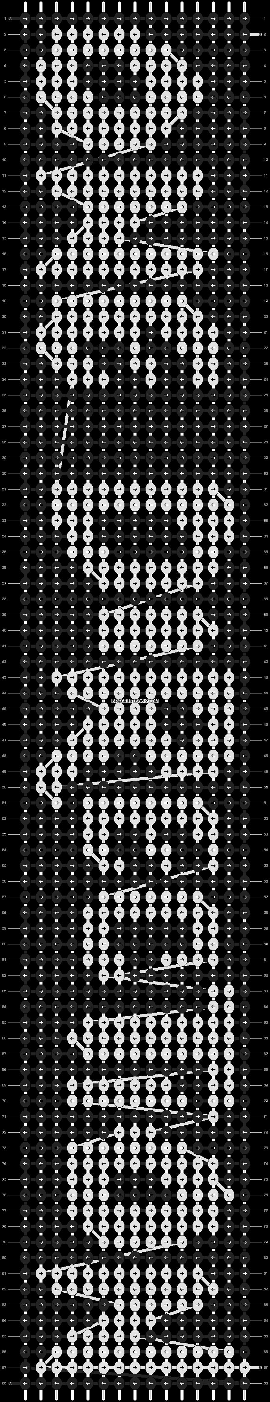 Alpha pattern #7619 pattern