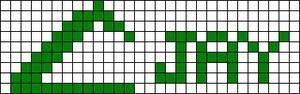 Alpha pattern #7620