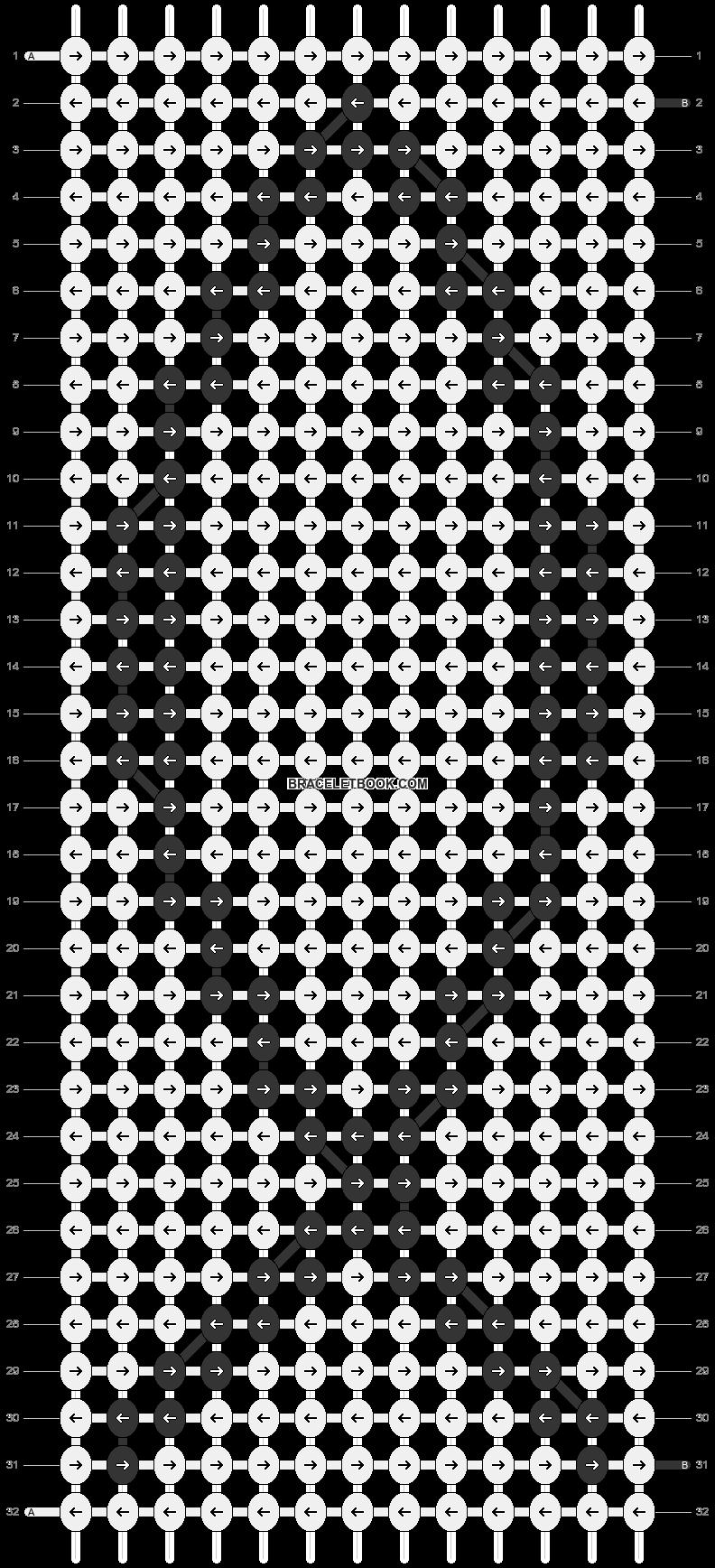 Alpha pattern #7623 pattern