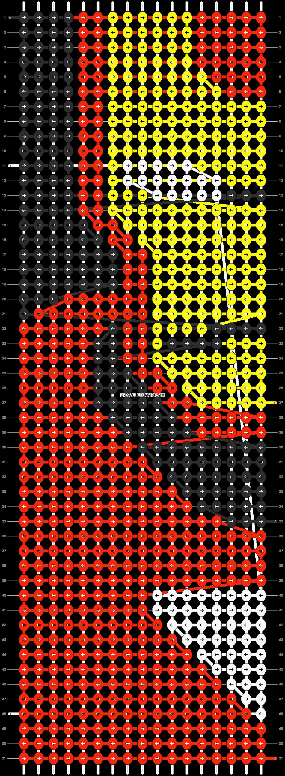 Alpha pattern #7626 pattern