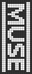 Alpha pattern #7631